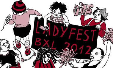 Visueel van project Ladyfest Brussels 2012