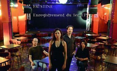 Project visual Premier EP de FAUSTINE