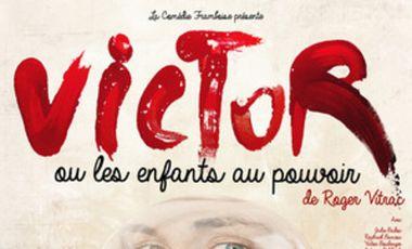 Visuel du projet Victor ou les enfants au pouvoir - Comédie Framboise