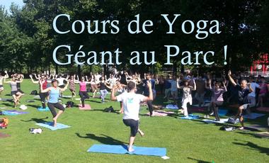 Visueel van project Cours de Yoga Géant au Parc