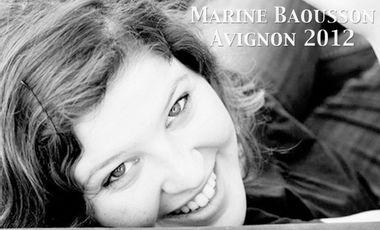 Project visual Marine Baousson  : AVIGNON 2012 !!!