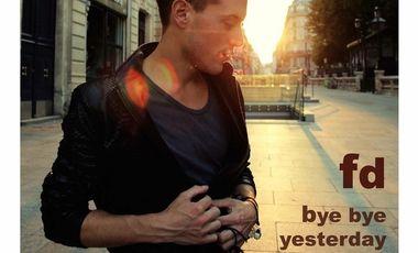"""Visueel van project FD / """"Bye bye yesterday"""""""