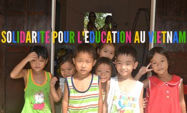 Visueel van project Solidarité pour l'éducation au Vietnam