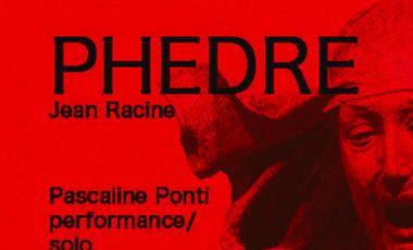 Visuel du projet Phèdre performance/solo