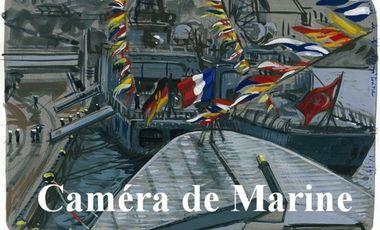 Visueel van project CAMÉRA DE MARINE, le petit magazine vidéo de l'Océan qui se faufile partout. Aidez le !