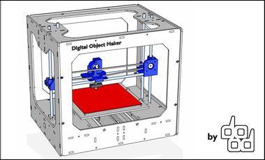 Visuel du projet DOM: Digital Object Maker, Imprimante 3D