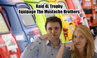 Project visual Raid 4L Trophy - Equipage Mustache Brother