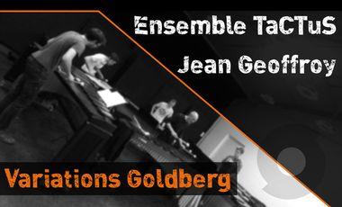 Project visual Enregistrement CD // Variations Goldberg
