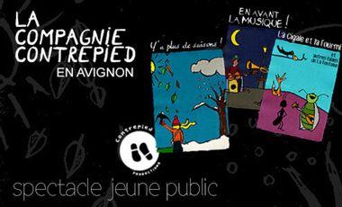 Project visual La Compagnie Contrepied, jeune public en Avignon !