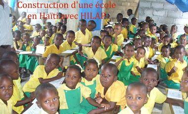 Project visual Construction d'une école en Haïti avec HILAP
