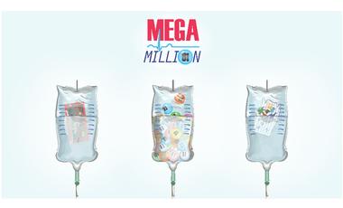 Visueel van project Mega Million