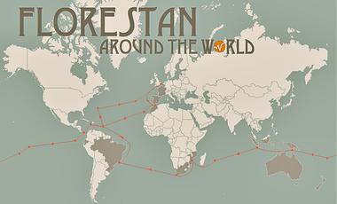 Visuel du projet Florestan around the world