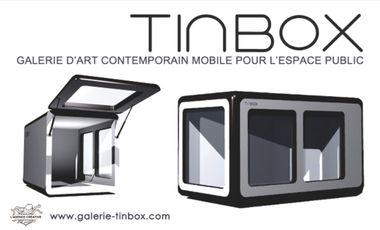 Project visual TINBOX - Galerie d'art contemporain mobile