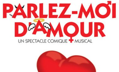 """Visuel du projet """"Parlez-Moi d'Amour"""" Avignon Off 2014"""