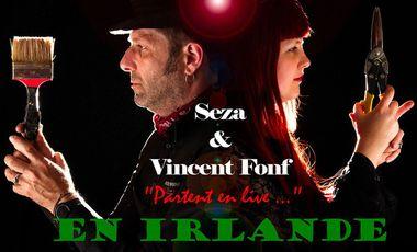 Visueel van project Seza et Vincent Fonf partent en live...