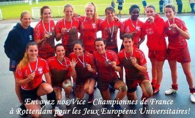 Visuel du projet Coupe d'Europe: les rugbywomen de l'ASRUC plaquent tout et débarquent à Rotterdam
