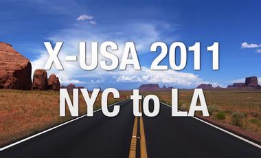 Visuel du projet X-USA 2011 - La traversée des USA en vélo