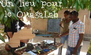 Project visual Un lieu pour le Ouaga Lab