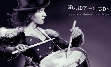 Visuel du projet HURDY-GURDY (The oh ! so sophisticated rock'n'roll band) / nouveau disque !