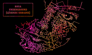 Visueel van project Rosa Underground (Légende Urbaine)