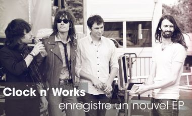 Project visual Clock n' Works - Nouvel EP