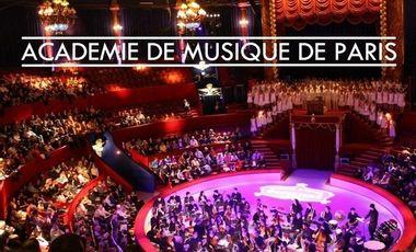 Project visual Académie de musique de Paris