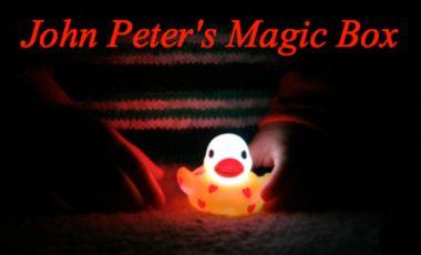 """Project visual Spectacle """"John Peter's Magic Box"""" à Avignon"""
