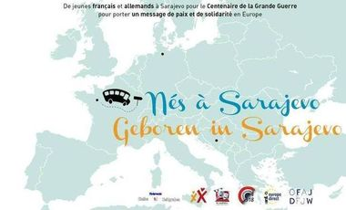 Visuel du projet Nés à Sarajevo / Geboren in Sarajevo