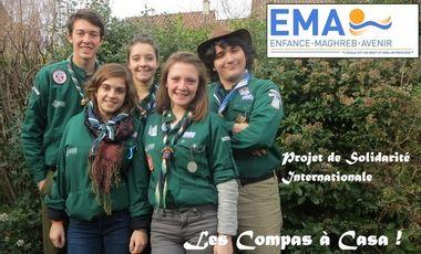 Visuel du projet Les Compas à Casa !