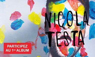 Visuel du projet Nicola Testa - Participez à la création du premier album!