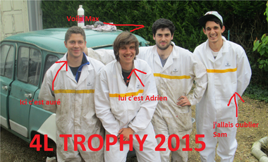 Visueel van project raid humanitaire 4L trophy