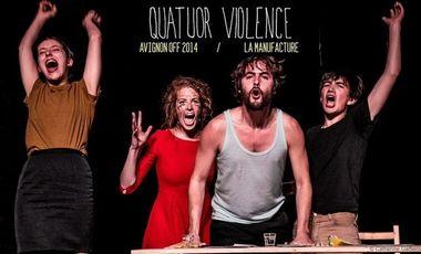 Visueel van project * Quatuor Violence a la Manufacture d'Avignon *
