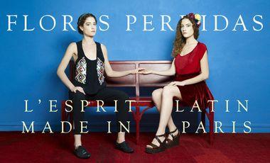 Project visual Flores Perdidas, l'esprit latin made in Paris