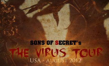 Project visual SONS OF SECRET : tournée aux USA