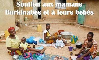Visuel du projet SOUTIEN AUX MAMANS BURKINABES ET A LEURS BEBES !