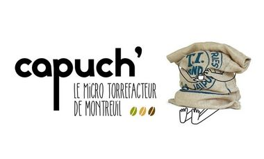 Project visual CAPUCH'  Le micro-torréfacteur de Montreuil
