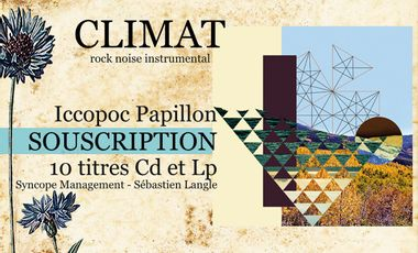 "Visueel van project Album ""Iccopoc Papillon"" - climat"