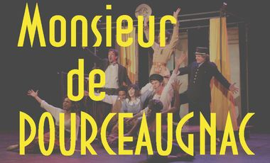 Project visual Monsieur de Pourceaugnac arrive à Avignon, à la Fabrik'Théâtre du 5 au 27 juillet!