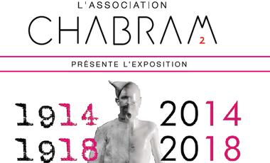 """Visueel van project Exposition """"Les tranchées modernes : 1914-1918//2014-2018"""