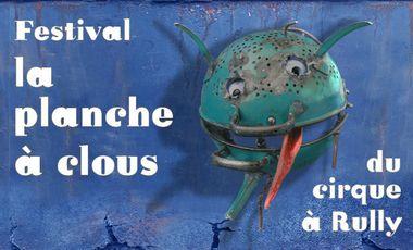 """Project visual festival """"la planche à clous 2"""""""