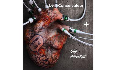 Visuel du projet Le Conservateur + clip AliveKill