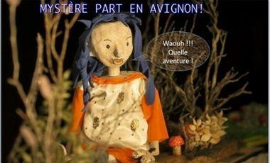 Project visual La cie Rêve Lune présente: MYSTÈRE part en Avignon !