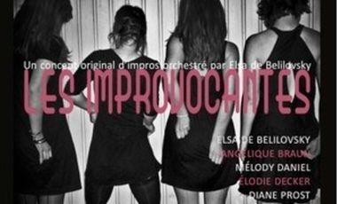 Visuel du projet Les Improvocantes Cabaret d'improvisation