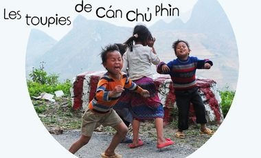 Project visual Les toupies de Can Chu Phin