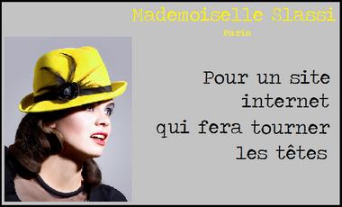 """Visuel du projet Chapeaux """"Mademoiselle Slassi"""""""