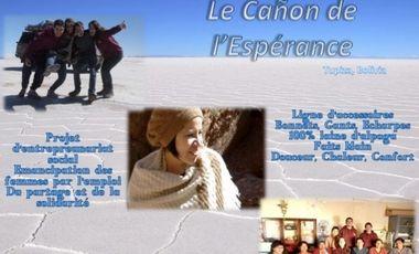 Visueel van project Cañon de l'Espérance