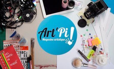 Project visual Art'Pi ! le magazine artistique de la culture Sourde