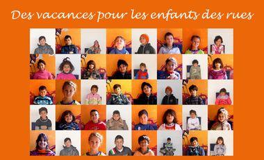 Project visual Des vacances pour les enfants des rues !