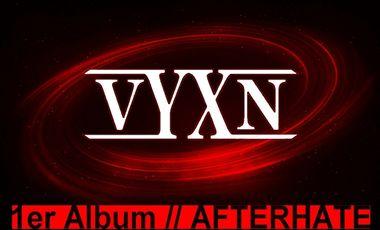 Visueel van project VYXN // Album // AfterHate