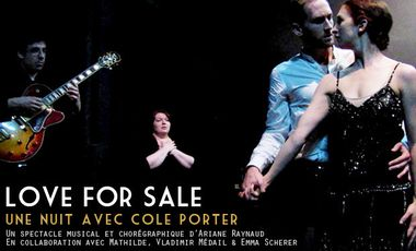 Visueel van project Love For Sale, une nuit avec Cole Porter